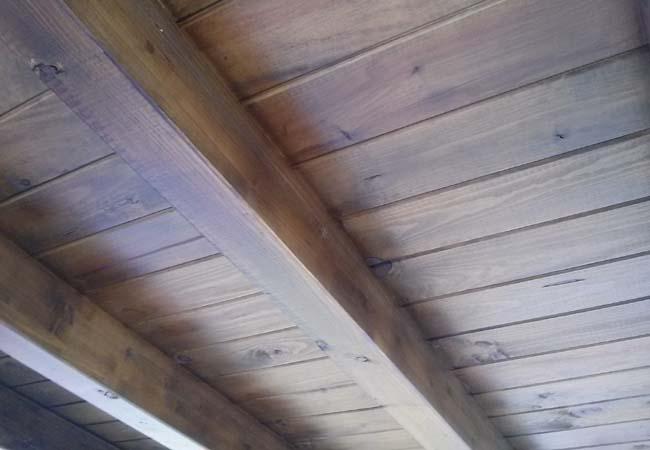 Pergolas de madera y tejados tropicales for Tejados de madera y teja